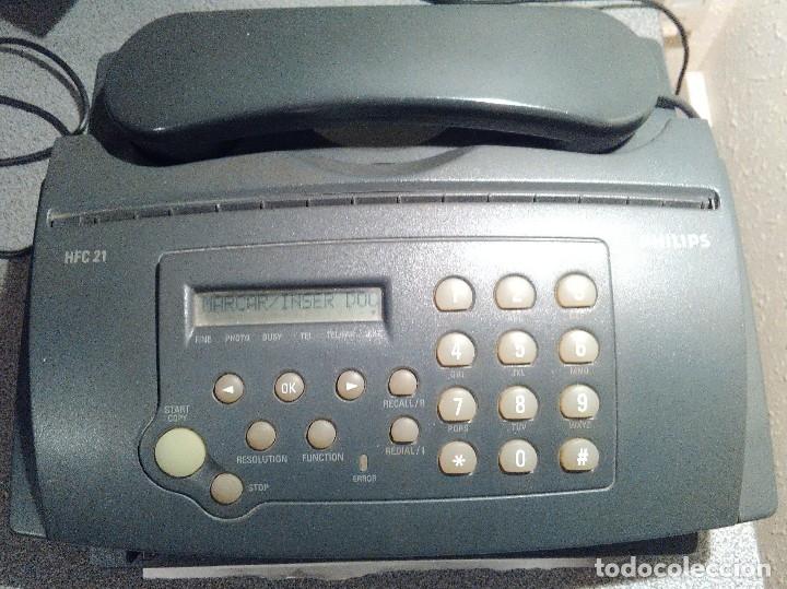TELEFONO – FAX – COPIADORA PHILIPS HFC-21 (Segunda Mano - Artículos de electrónica)