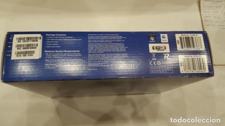 Segunda Mano: Linksys E1200-EW - Router inalámbrico N300 (Wireless-N, 4 Puertos Fast Ethernet, 300 Mbps, Linksys C - Foto 3 - 174468067