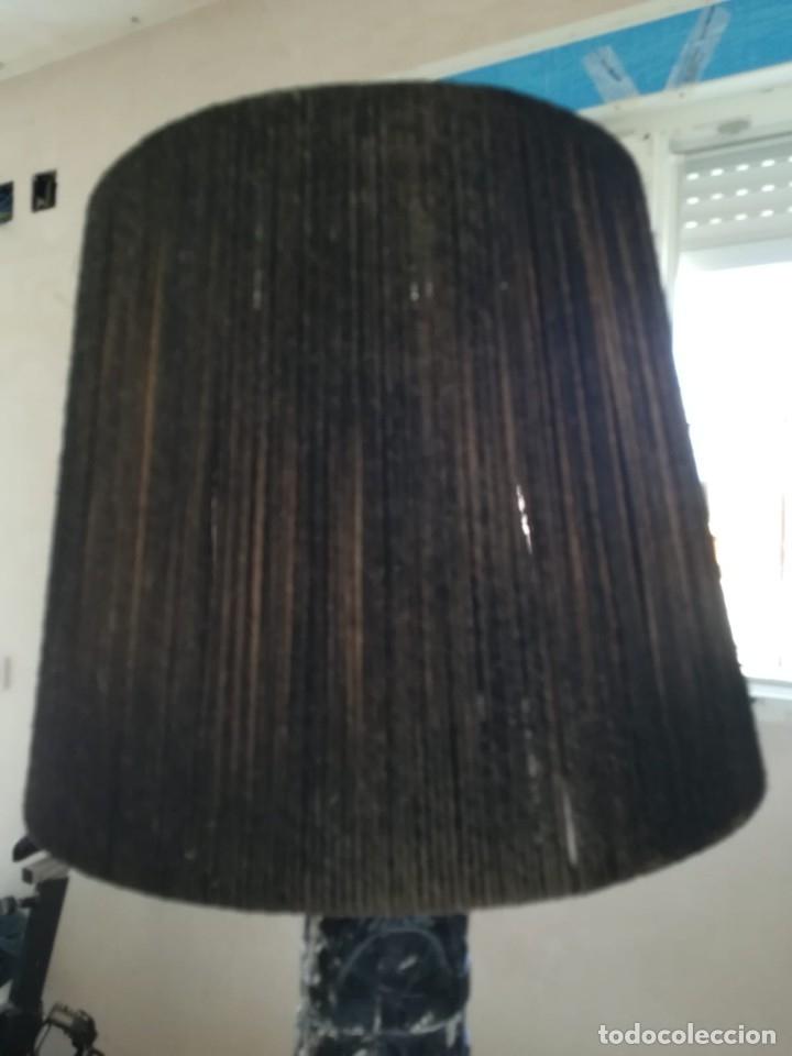 Segunda Mano: Lampara madera tallada. Para restaurar - Foto 14 - 174945445