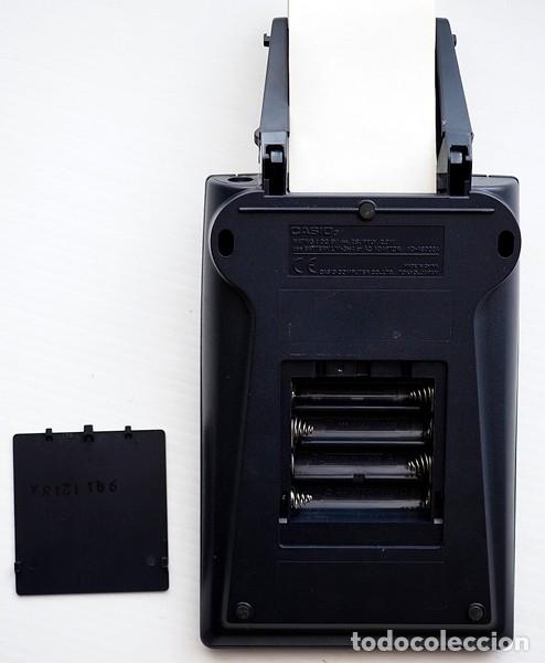 Segunda Mano: CASIO Modelo HR-100 ER y lote de 12 rollos de papel. Calculadora impresora - Foto 9 - 175594608