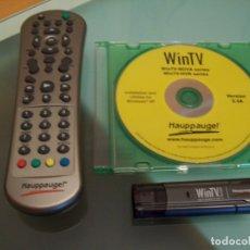 Segunda Mano: WIN TV HAUPPAUGE! PARA PC. ADAPTADOR USB PARA SINTONIZAR TV EN PC.. Lote 175629303