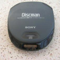 Segunda Mano: DISCMAN DE SONY ,CD COMPACT PLAYER D-151 FUNCIONANDO. Lote 176008359