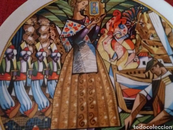 Segunda Mano: PLATO DECORADO ALICANTE DE SIEMPRE REMIGIO SOLER- - Foto 2 - 176489984