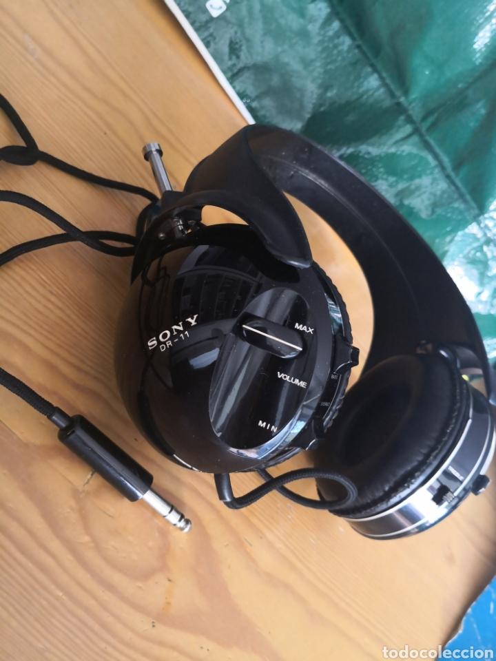 Segunda Mano: Auriculares cascos Vintage Sony model DR-11 como nuevos - Foto 3 - 177028152