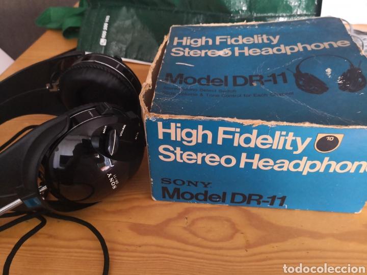 Segunda Mano: Auriculares cascos Vintage Sony model DR-11 como nuevos - Foto 2 - 177028152