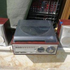 D'Occasion: ROADSTAR TURNTABLE TOCADISCOS CD MP3 RADIO USB TARJETA SD CON DOS ALTAVOCES (LEER DESCRIPCION). Lote 177077153