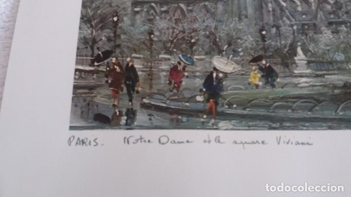 Segunda Mano: Lamina de París . Notre-Dane - Foto 2 - 177308857