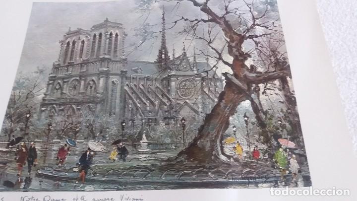 Segunda Mano: Lamina de París . Notre-Dane - Foto 4 - 177308857