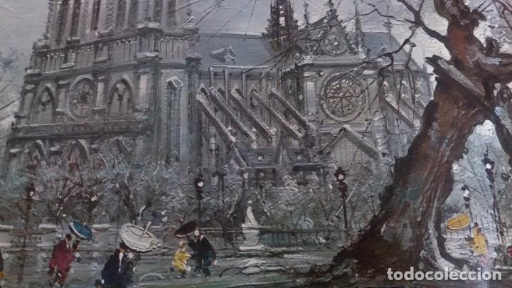 Segunda Mano: Lamina de París . Notre-Dane - Foto 6 - 177308857