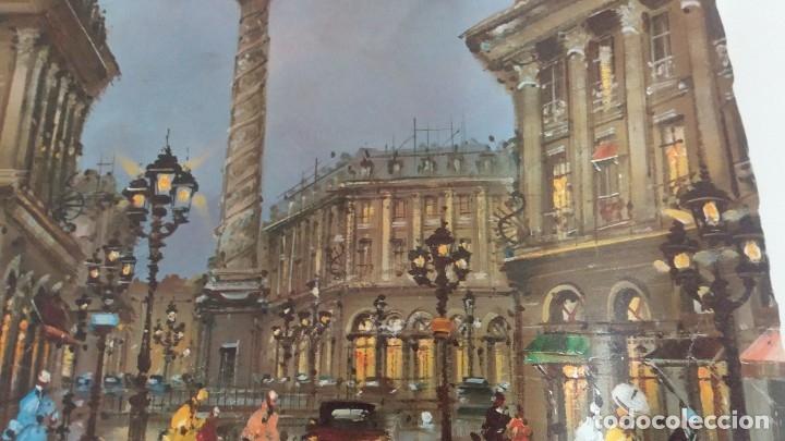 Segunda Mano: Lamina de París .Plaza vendame - Foto 2 - 177309019