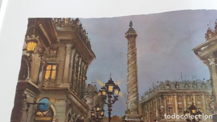 Segunda Mano: Lamina de París .Plaza vendame - Foto 3 - 177309019