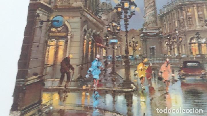 Segunda Mano: Lamina de París .Plaza vendame - Foto 4 - 177309019