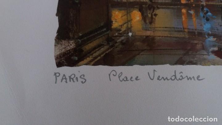 Segunda Mano: Lamina de París .Plaza vendame - Foto 6 - 177309019