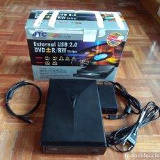 D'Occasion: BTC DRW 1116UI - GRABADOR / REPRODUCTOR DE DVD Y CD EXTERNO. Lote 177318564
