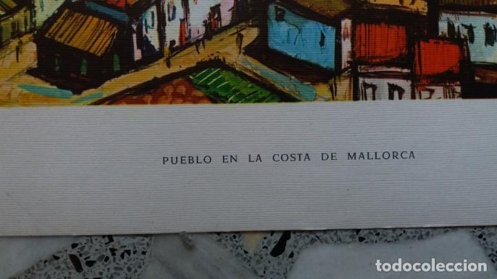 Segunda Mano: Lamina De Pueblo de Mallorca - Foto 2 - 177744513
