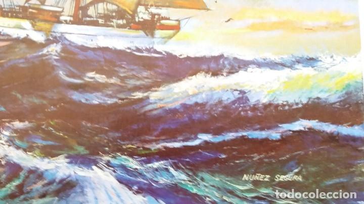Segunda Mano: Lamina De Barco velero - Foto 3 - 177744923