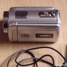 Segunda Mano: CÁMARA DE VÍDEO YASHICA HD. HDMI. CON TARJETA 4 GB CABLES CARGA Y ORDENADOR. BATERÍA E INSTRUCCIONES. Lote 178204772