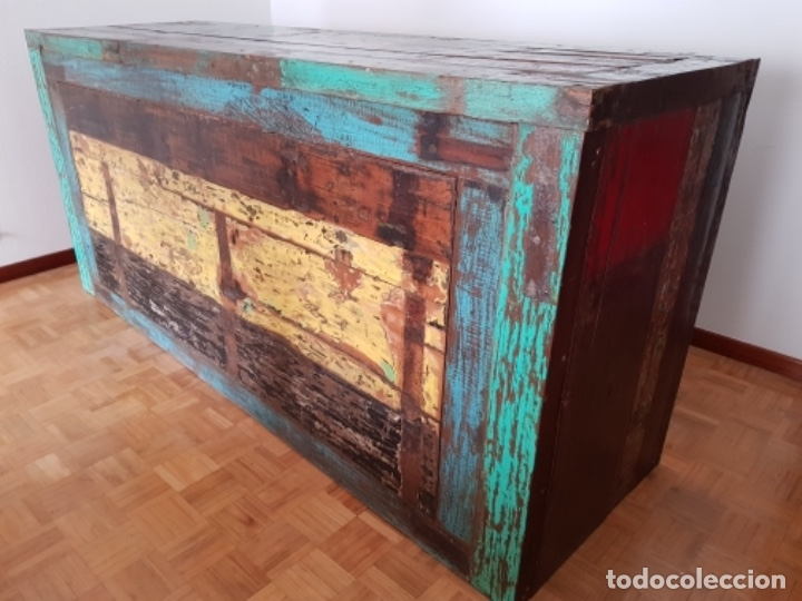 Segunda Mano: Barra de madera de Barco antiguo balinés - Foto 2 - 178587330