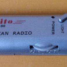 Segunda Mano: PALITO PA-188 - FM AUTO SCAN RADIO - 12 X 2.5 CMS. Lote 179220648