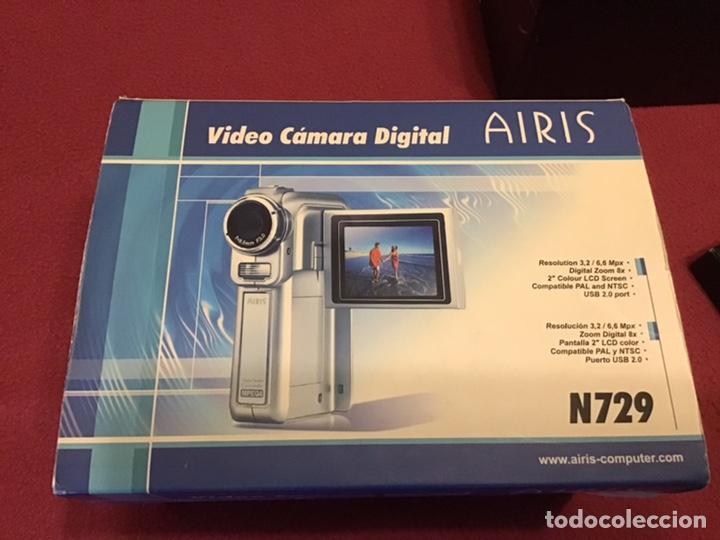 Segunda Mano: VIDEOCÁMARA AIRIS N729 - Prácticamente nueva con dos baterias - Foto 6 - 180280873