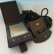 Segunda Mano: AGENDA PALM IIIXE FUNDA MANUAL CD SOPORTE PC FUNCIONNADO #DE. Lote 181192697