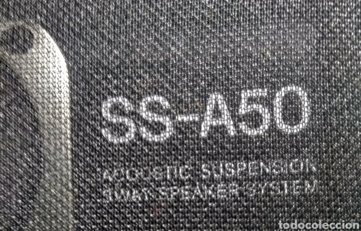 Segunda Mano: 2 Altavoces. Sony SS - A50 de 80w. 3 vías. Años 80. - Foto 5 - 181966702