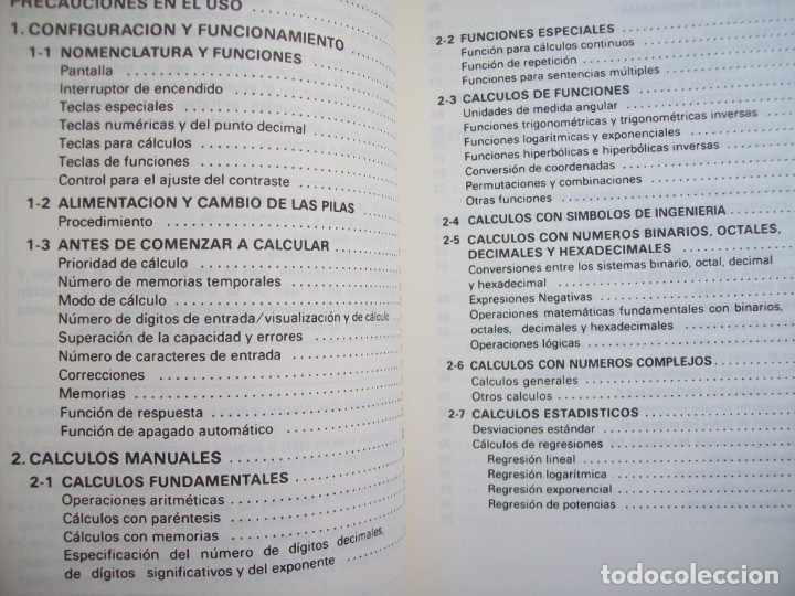 Segunda Mano: MANUAL DEL PROPIETARIO CALCULADORA CASIO FX-3900P - Foto 2 - 182276611