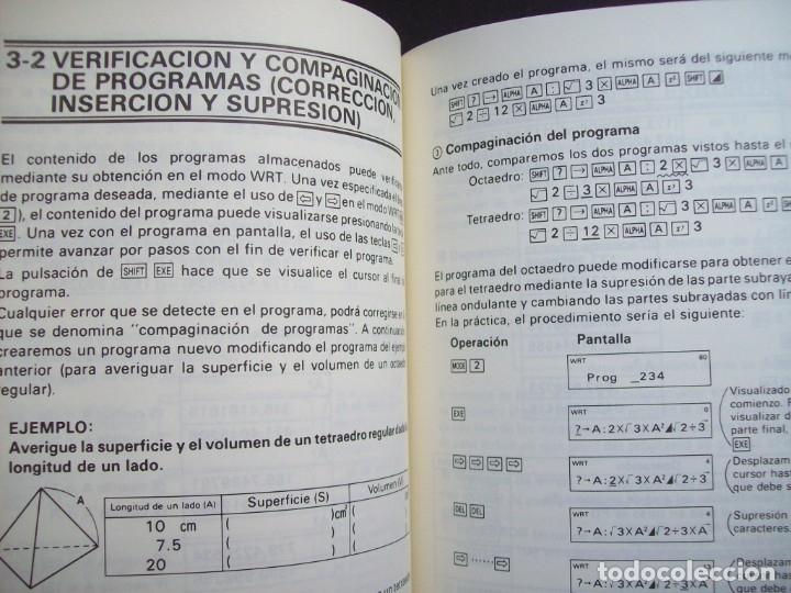 Segunda Mano: MANUAL DEL PROPIETARIO CALCULADORA CASIO FX-3900P - Foto 5 - 182276611
