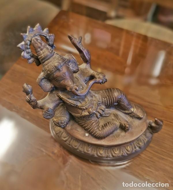 Segunda Mano: Figura Ganesha - Foto 2 - 182489176