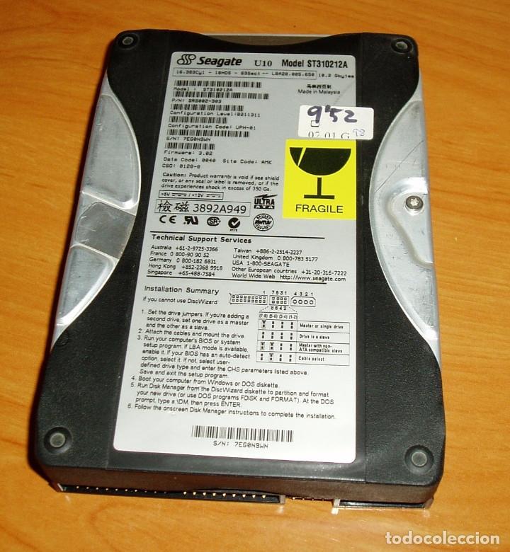 DISCO DURO IDE SEAGATE U10 - 10GB (Segunda Mano - Artículos de electrónica)