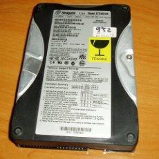 Segunda Mano: DISCO DURO IDE SEAGATE U10 - 10GB. Lote 182493776