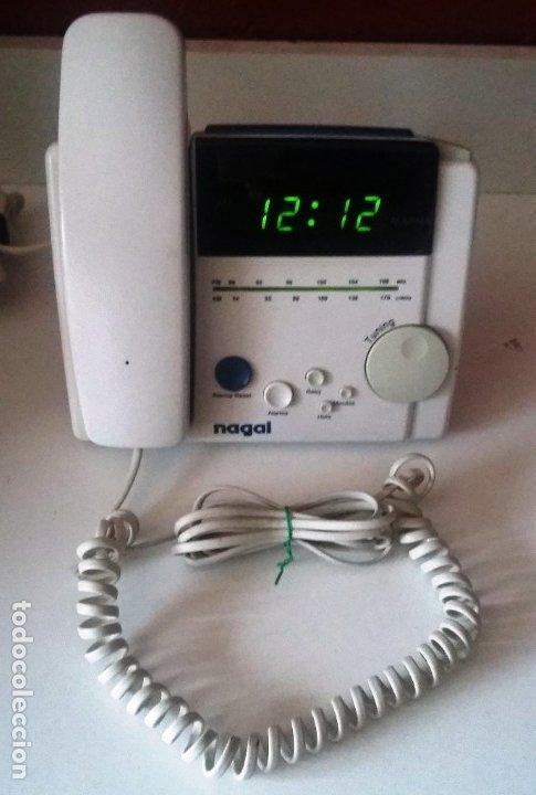 TELEFONO NAGAI ASTRA , ALARMA,RADIO Y HORA (Segunda Mano - Artículos de electrónica)