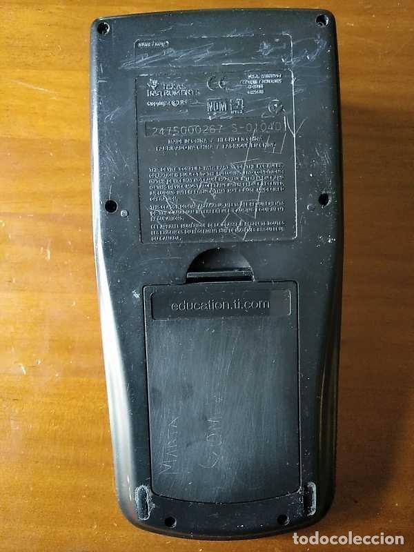 Segunda Mano: CALCULADORA TEXAS INSTRUMENTS TI-83 PLUS - FUNCIONANDO CALCULATOR - Foto 39 - 182561952