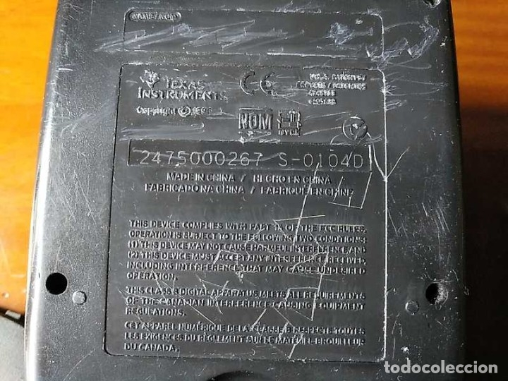Segunda Mano: CALCULADORA TEXAS INSTRUMENTS TI-83 PLUS - FUNCIONANDO CALCULATOR - Foto 67 - 182561952