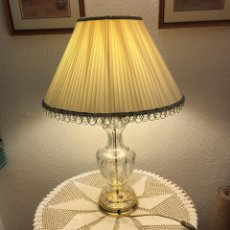 Segunda Mano: LAMPARA CRISTAL BOHEMIA. Lote 182610267