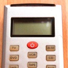 Segunda Mano: MANDO A DISTANCIA UNIVERSAL CON LCD. Lote 182663461