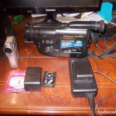 Segunda Mano: VIDEO CÁMARA PANASONIC RX50 Y VIDEO CÁMARA AIRIS N729, LEER DESCRIPCIÓN. Lote 182686342