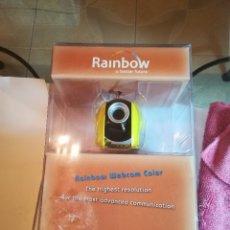 Segunda Mano: CAMARA WEB RAINBOW PARA PC. USB. SIN ESTRENAR. Lote 182696463