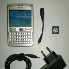 Segunda Mano: TELÉFONO NOKIA E61 LIBRE - FUNCIONADO CON CARGADOR Y TARJETA MINI SD DE 64MB. Lote 182724883
