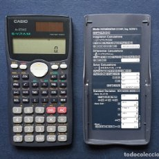 Segunda Mano: CALCULADORA CASIO FX 115MS SOLAR S-V.P.A.M. CIENTIFICA TWO WAY POWER FUNCIONA. Lote 182746690