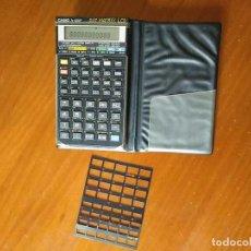 Segunda Mano: CALCULADORA CASIO FX-4200P SCIENTIFIC CALCULATOR CON PLANTILLA ADICIONAL DE TECLADO, FUNCIONANDO. Lote 183400741