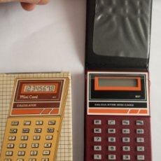 Segunda Mano: CALCULADORA MINI CARD CALCULATOR 837. Lote 183460801