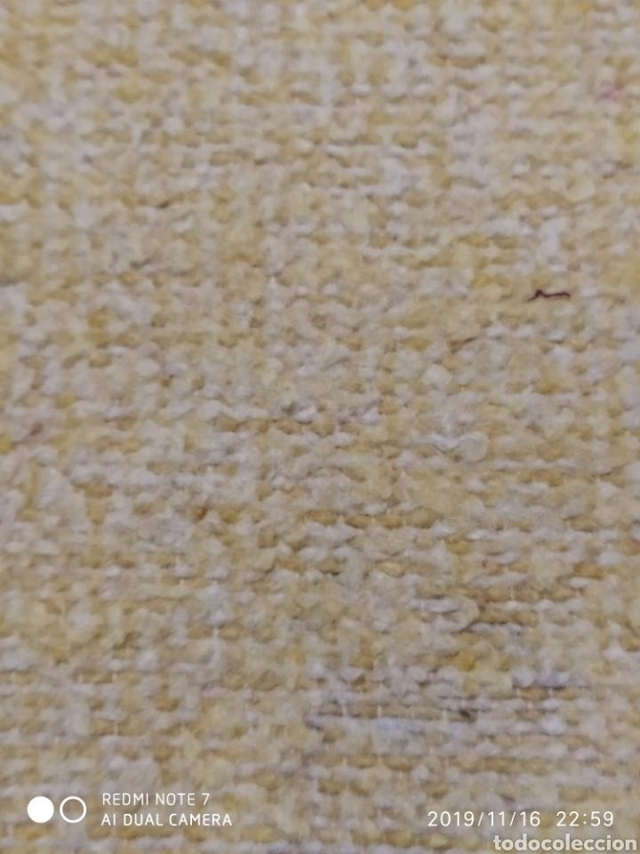 Segunda Mano: ANTIGUA MANTA MODERNISTA, TELAR ARTESANO - Foto 11 - 183531008