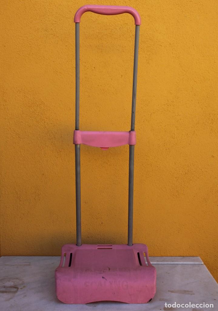 Segunda Mano: Carro escolar para la mochila de metal en rosa - Foto 2 - 183700495