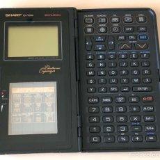 Segunda Mano: ORGANIZADOR ELECTRÓNICO SHARP IQ-7100M. AÑOS 90. Lote 183823926