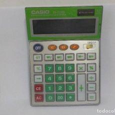 Segunda Mano: ANTIGUA CALCULADORA CASIO DS-2200S.GRAN TAMAÑO.. Lote 184280466