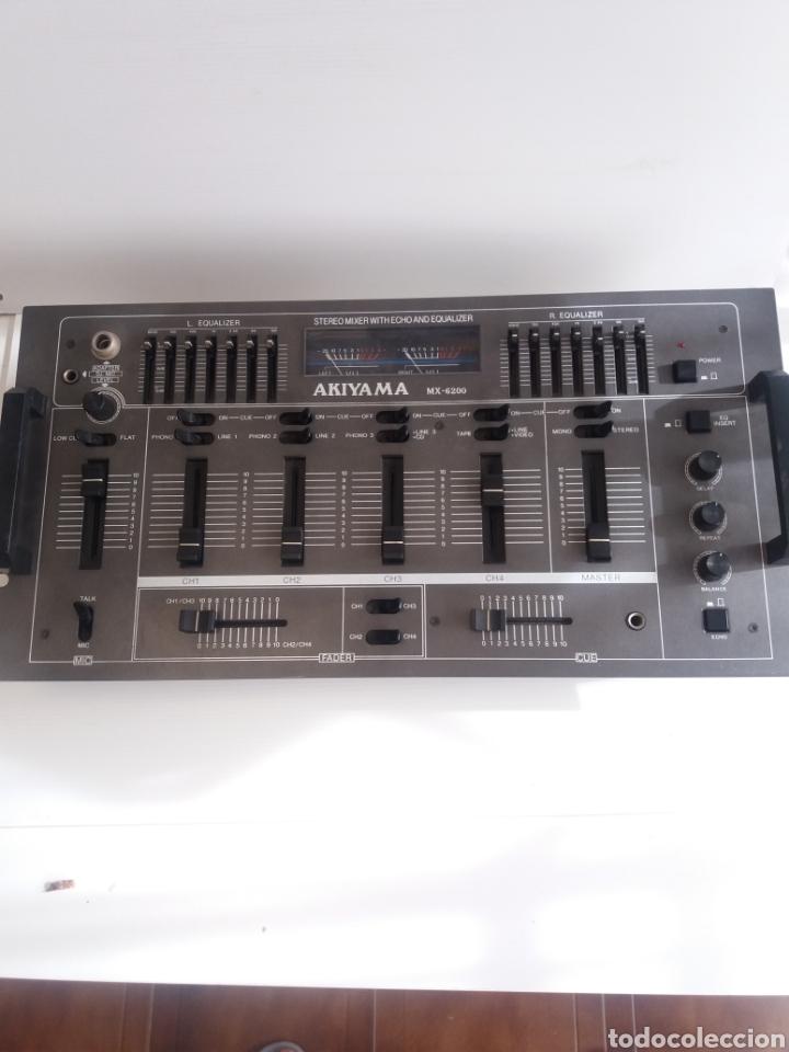 MESA DE MEZCLAS AKIYAMA MX-6200 (Segunda Mano - Artículos de electrónica)
