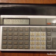 Segunda Mano: CALCULADORA PROGRAMABLE TEXAS INSTRUMENTS TI66 TI-66. Lote 184867476