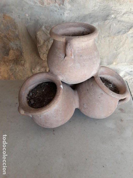 Segunda Mano: Tiesto de barro de cuatro cuerpos - Foto 2 - 186062415