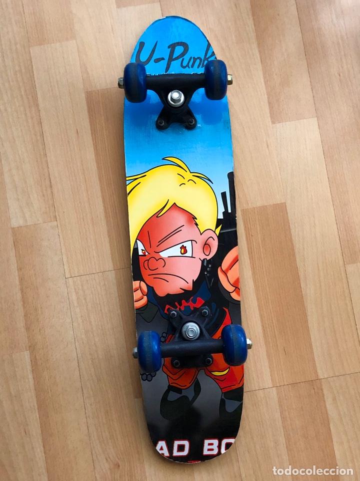 Segunda Mano: Monopatín de u-pinky group skateboards. Modelo Bad boy - Foto 5 - 186078952